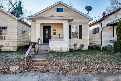 Louisville Single Family Home For Sale: 3442 W Jefferson St