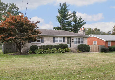 Louisville KY Single Family Home For Sale: $184,900