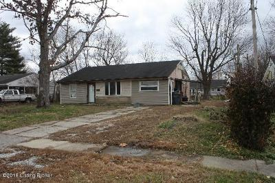 Louisville KY Single Family Home For Sale: $49,900