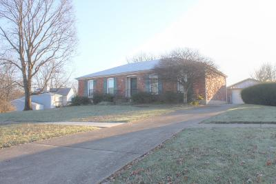 Louisville Single Family Home For Sale: 2807 Summerfield Dr