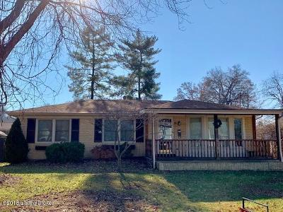Louisville KY Single Family Home For Sale: $137,900