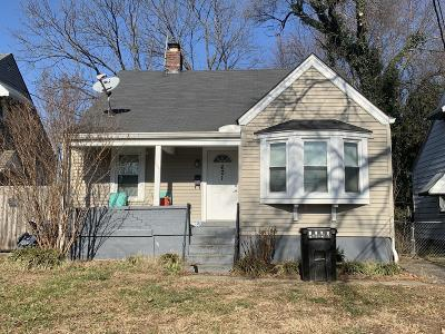 Louisville Single Family Home For Sale: 601 Creel Ave