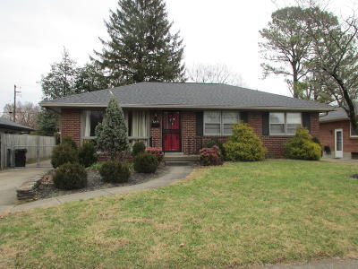 Louisville KY Rental For Rent: $1,275