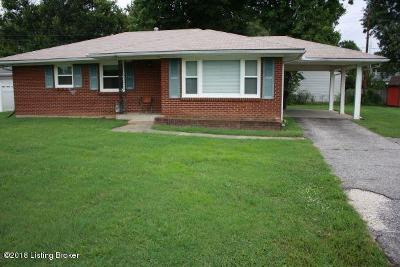 Louisville KY Single Family Home For Sale: $120,000