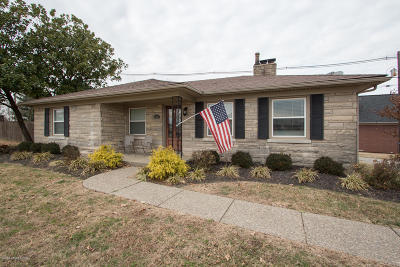 Louisville KY Single Family Home For Sale: $259,900