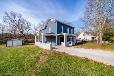 Taylorsville Single Family Home For Sale: 6075 Elk Creek Rd