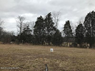 Shelby County Residential Lots & Land For Sale: Lot 357 Zaynate Ct #357