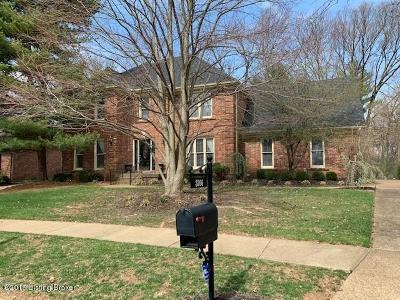Louisville Single Family Home For Sale: 3206 Springstead Cir