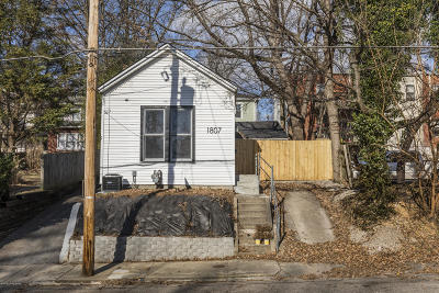 Highlands Single Family Home For Sale: 1807 Sherwood Ave