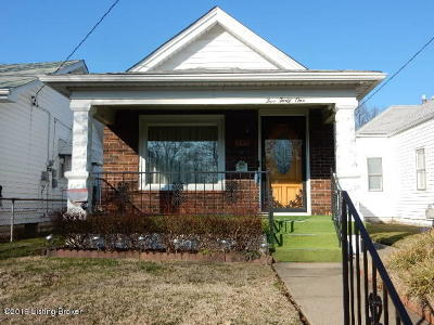 Louisville Single Family Home For Sale: 541 Lilly Ave