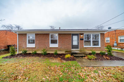 Louisville KY Single Family Home For Sale: $116,900