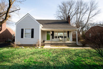 Louisville Single Family Home For Sale: 3729 Carol Rd