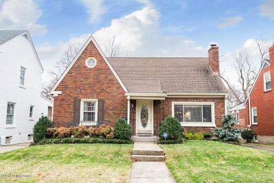 Louisville Single Family Home For Sale: 2222 Tyler Ln