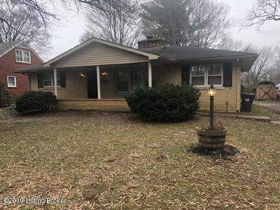 Louisville Rental For Rent: 3008 Michael Dr