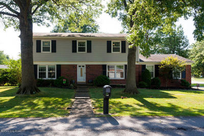 Single Family Home For Sale: 500 Rothbury Ln