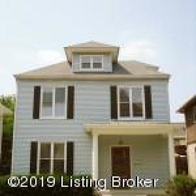 Louisville Rental For Rent: 1827 Edgeland Ave