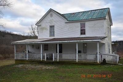 Spencer County Single Family Home For Sale: 1355 Old Van Buren Rd