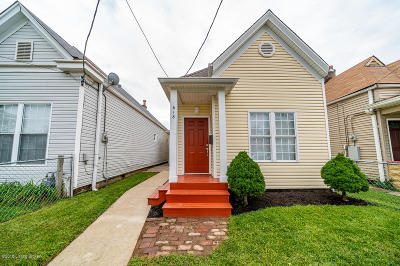 Single Family Home For Sale: 618 E Kentucky St