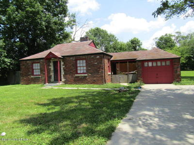 Louisville Single Family Home For Sale: 9901 Blue Lick Rd