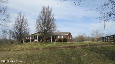 Single Family Home For Sale: 598 Old Carmon Rd