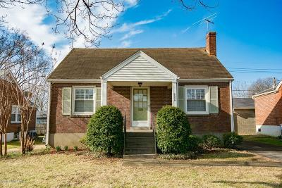 Louisville Single Family Home For Sale: 3006 Beaumont Rd