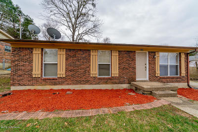 Louisville KY Single Family Home For Sale: $130,000