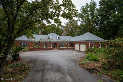 Single Family Home For Sale: 5860 Scottsville Rd