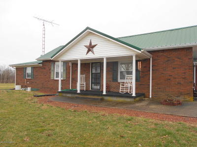 Leitchfield, Caneyville, Clarkson, Big Clifty Single Family Home For Sale: 2938 Lilac Rd