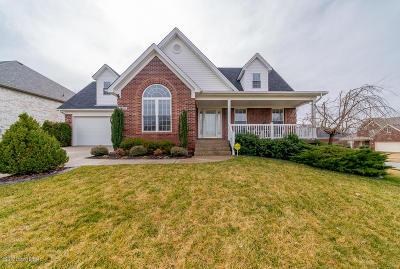 Single Family Home For Sale: 9600 Keeling Ridge Rd