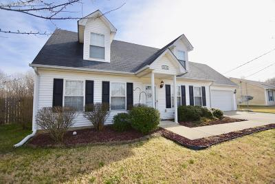 Radcliff Single Family Home For Sale: 1860 S Woodland Dr