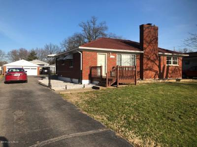 Single Family Home For Sale: 8523 Peggy Dr