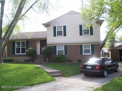 Single Family Home For Sale: 5107 Jonar Ct