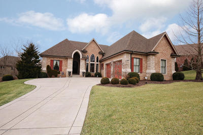 Fisherville Single Family Home For Sale: 16817 Shakes Creek Dr
