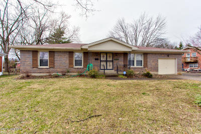 Single Family Home For Sale: 3530 Leith Ln