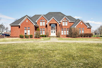 Brooks Single Family Home For Sale: 284 N Myers Rd