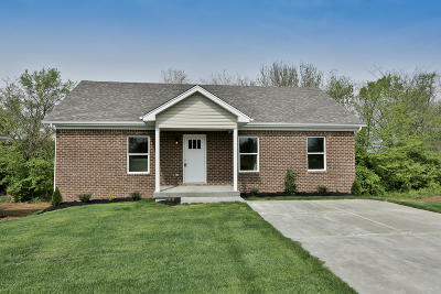 Shelbyville Single Family Home For Sale: 1838 Blackwell Rd