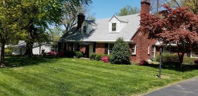 Single Family Home For Sale: 225 Blankenbaker Ln