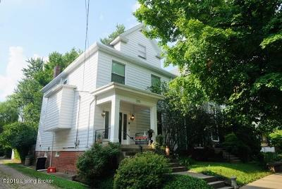 Louisville Single Family Home For Sale: 1315 Highland Ave