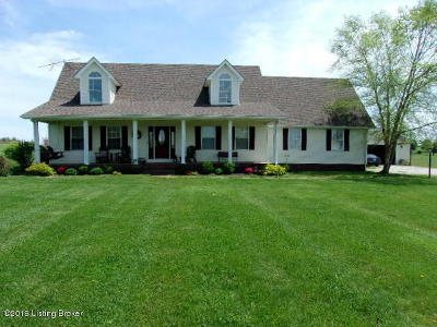 Grayson County Single Family Home For Sale: 1246 Clark School Rd
