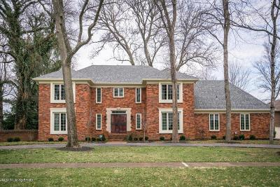 Single Family Home For Sale: 8309 Croydon Cir