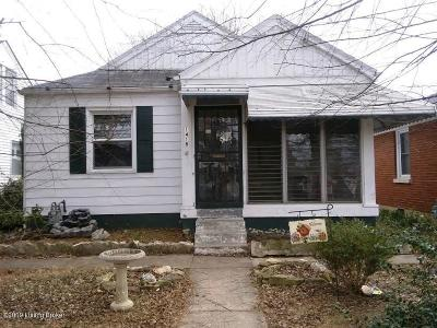 Louisville Single Family Home For Sale: 1418 Walter Ave
