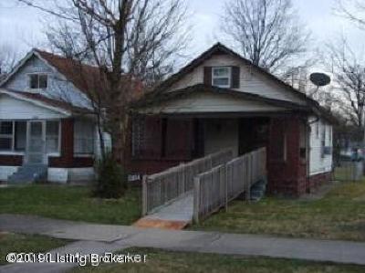 Louisville Single Family Home For Sale: 3324 W Kentucky St