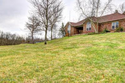Taylorsville Single Family Home For Sale: 104 Creekview Dr