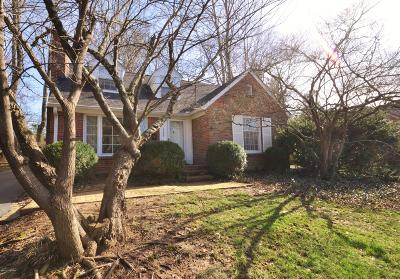 Single Family Home For Sale: 4006 Druid Hills Rd