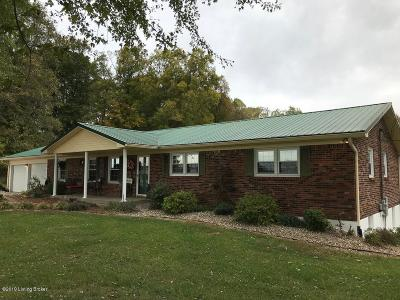 Meade County Single Family Home For Sale: 350 Rogers Lake Rd