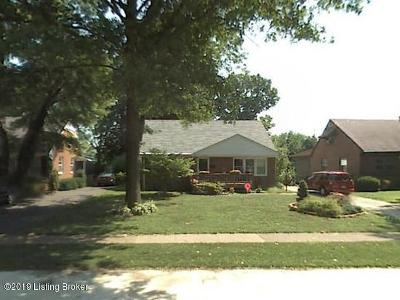 Louisville KY Single Family Home For Sale: $175,000