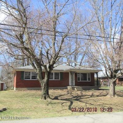 Louisville KY Single Family Home For Sale: $119,900
