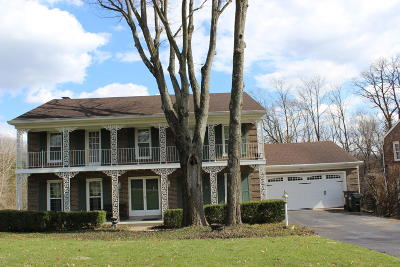 Single Family Home For Sale: 4004 Old Brownsboro Hills Rd