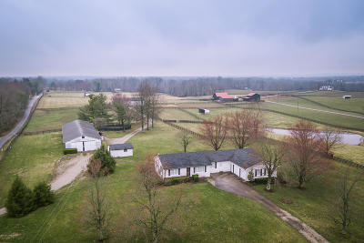 Single Family Home For Sale: 4262 Todds Point Rd