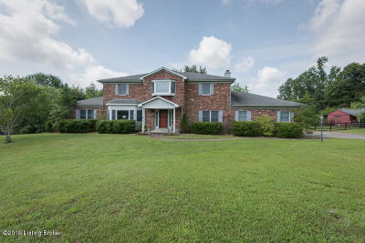 Louisville Single Family Home For Sale: 10010 Independence School Rd